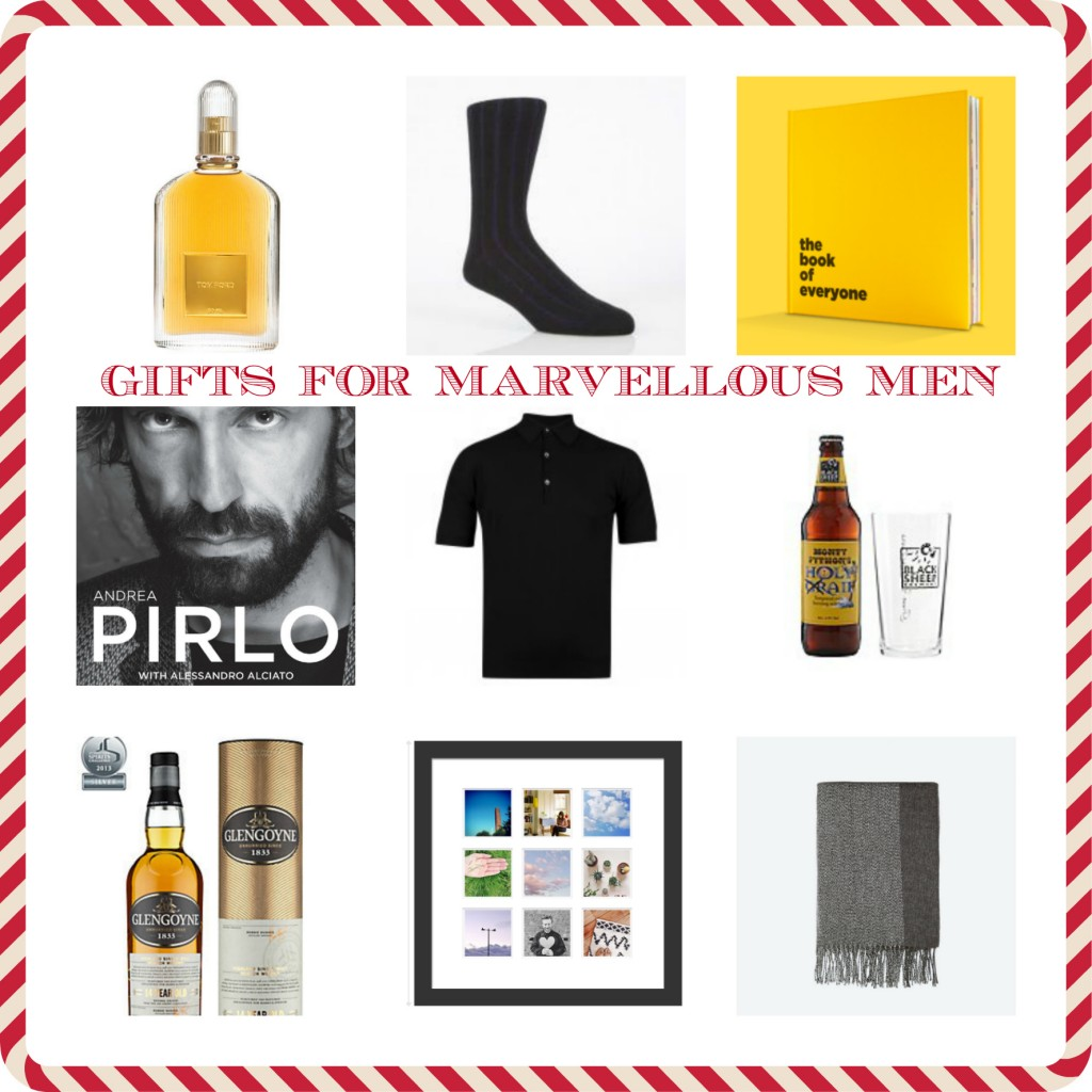 gifts from marvellous men