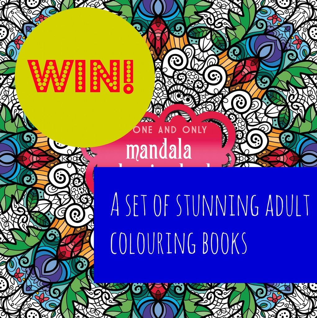 WIN set of colouring books