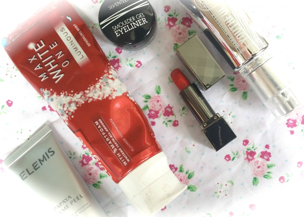 Five beauty products