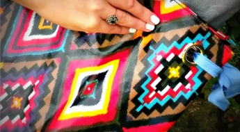 close up print bag