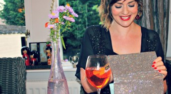 Aperol Spritz look down