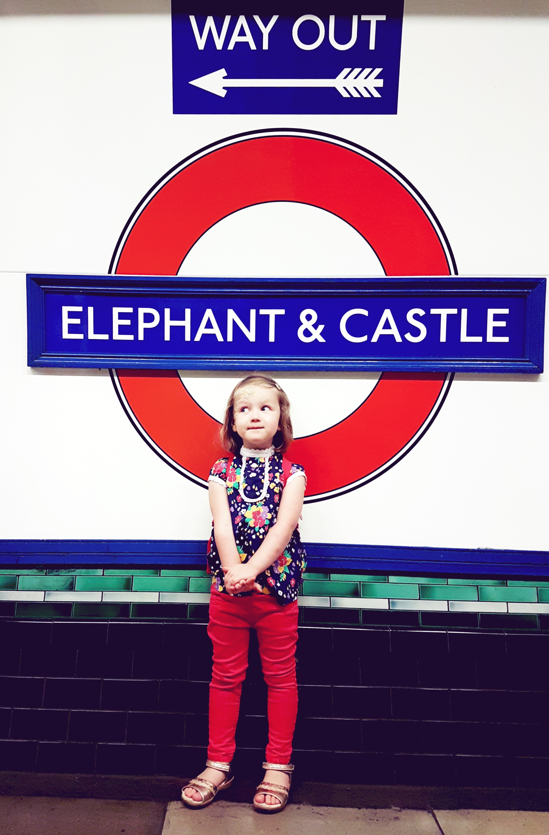 OUR WEEKEND IN LONDON (AND ELSIE'S FIRST TIME IN THE CAPITAL!)